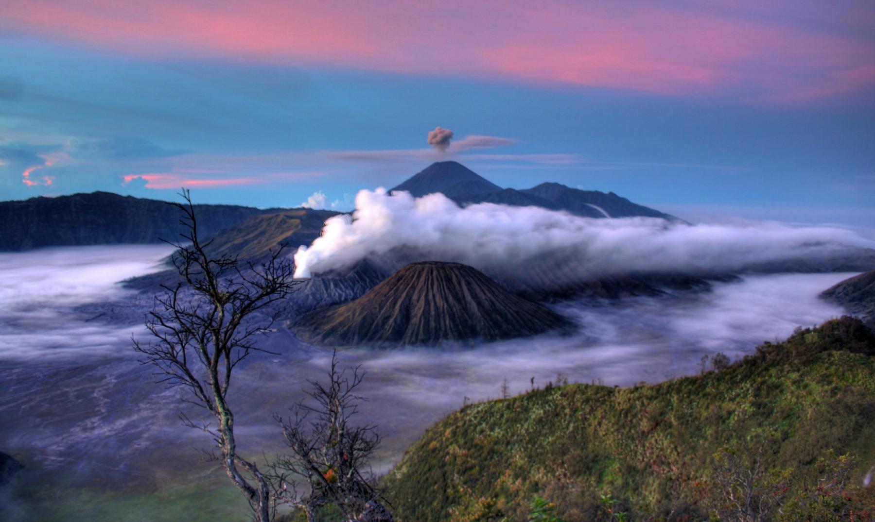 Imagen del Monte Semeru