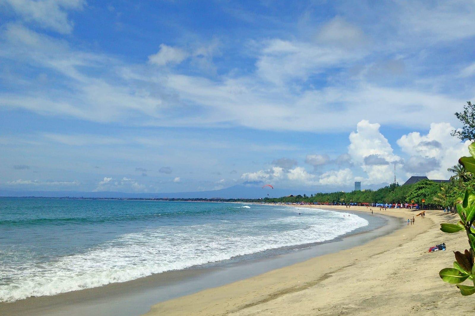 Imagen de la Playa Kuta Beach