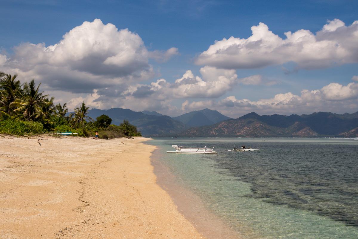 Playa en las Islas Gili