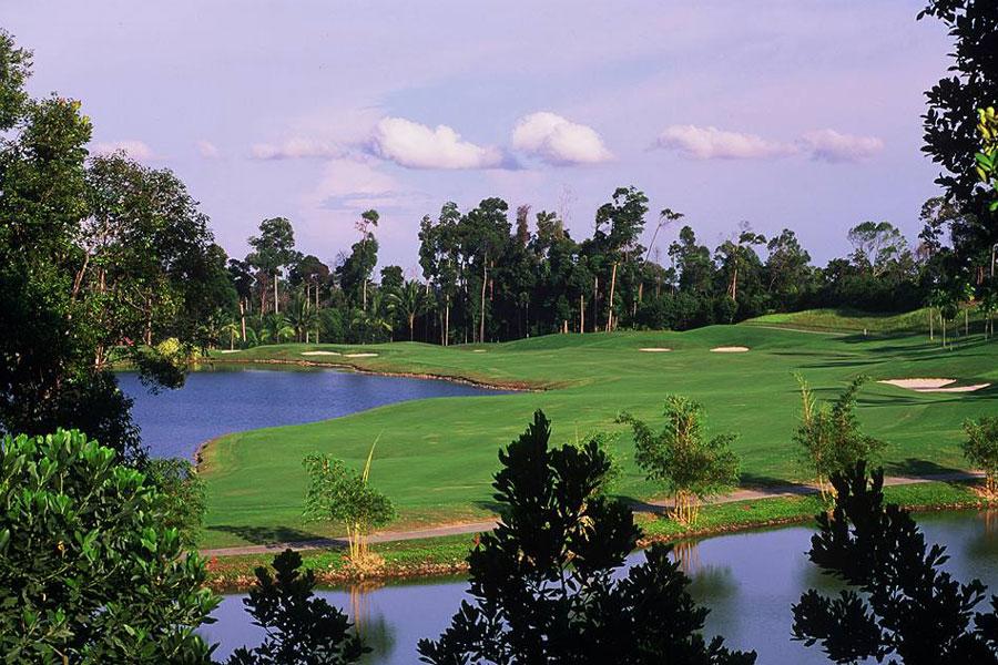 an Baker-Finch Woodlands Golf Course