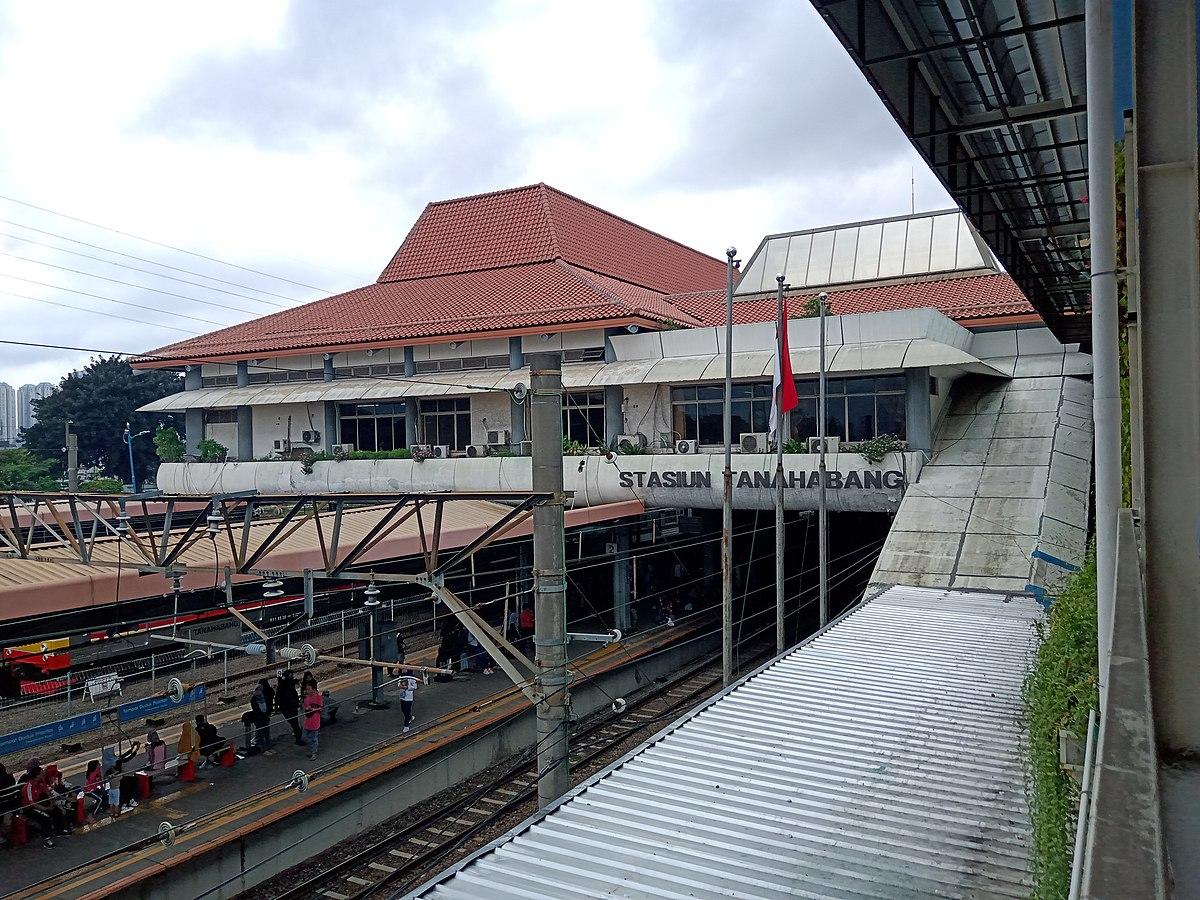 Estación de tren de Tanah Abang