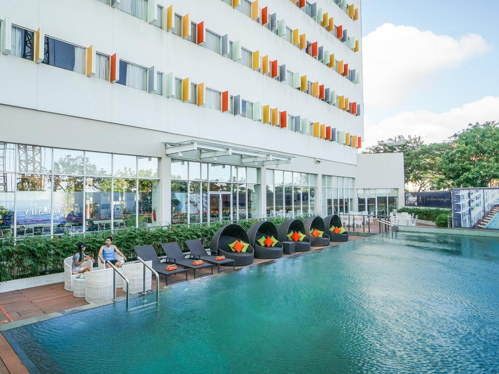 Alojamiento en Harris Hotel