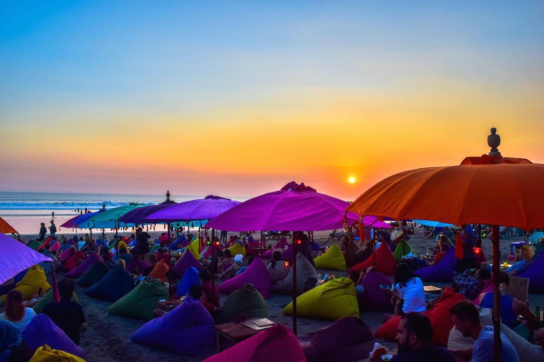 Noche En Playa de Bali