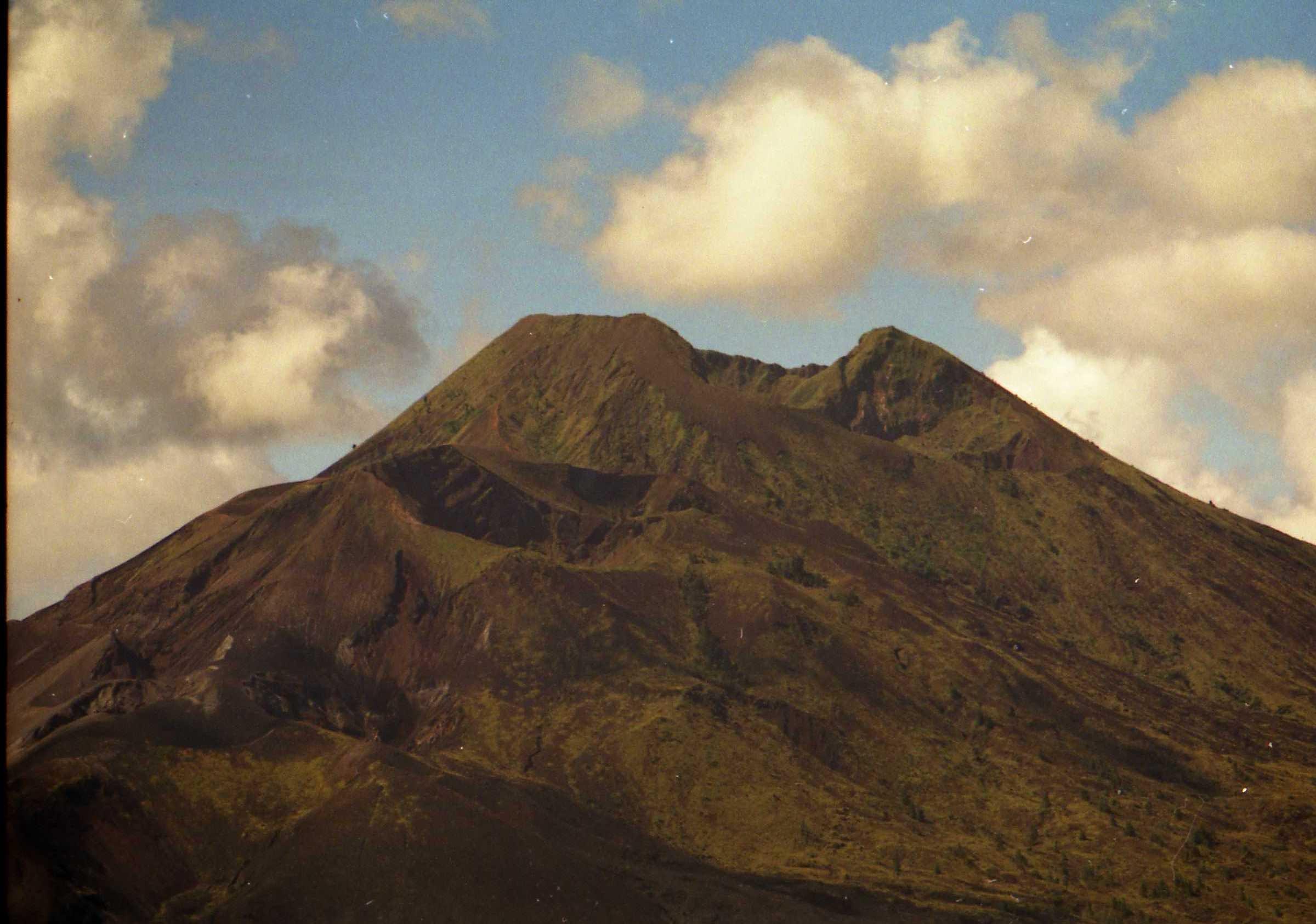 Vista del Monte Batur en Kintamani, Bali