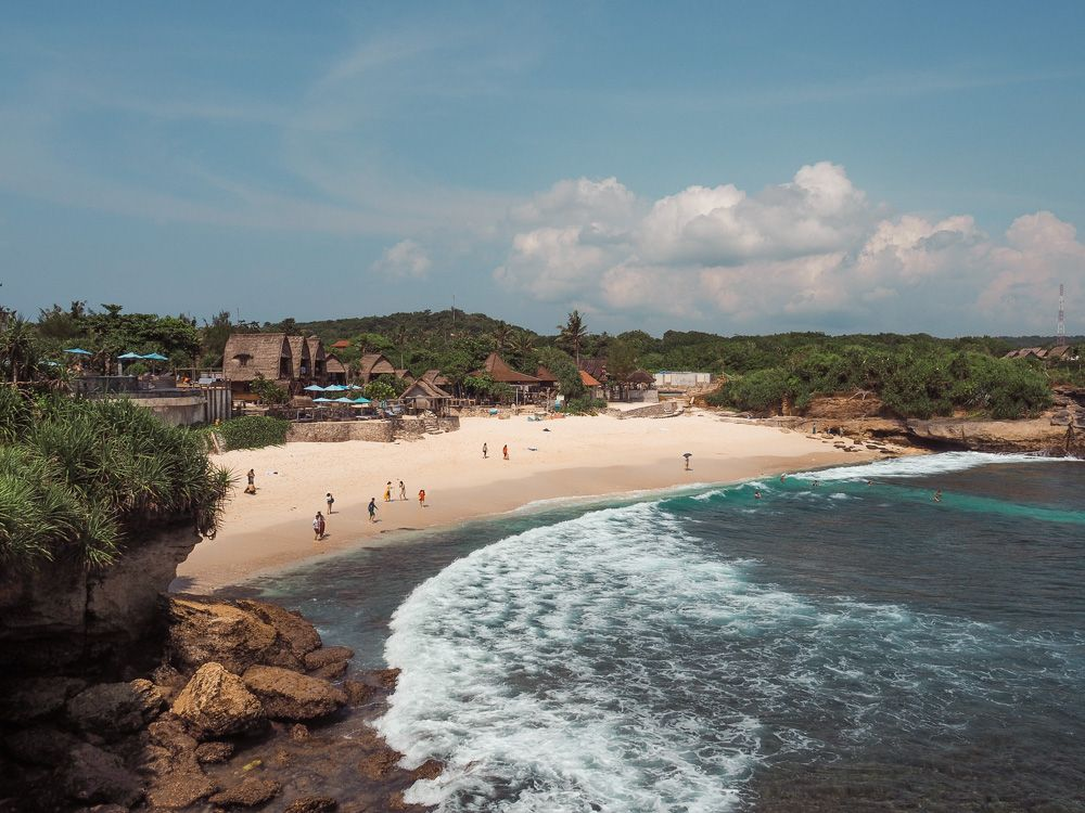 Dream Beach en Nusa Lembongan