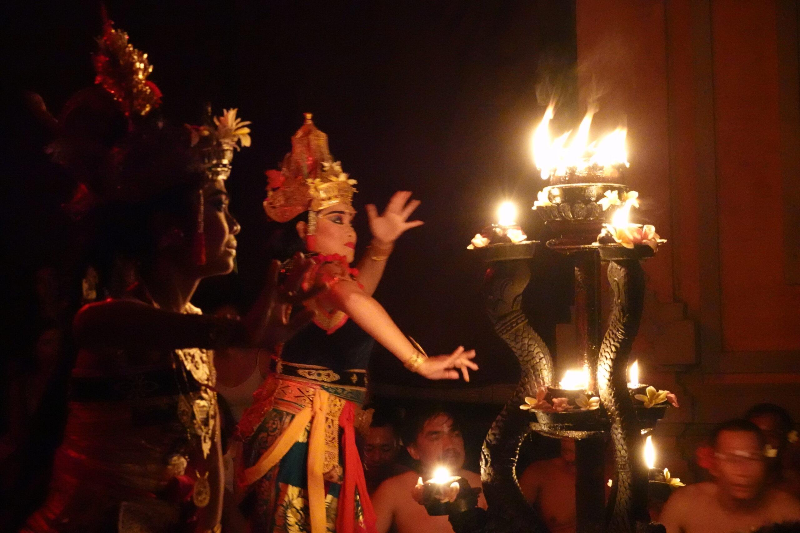 increíble Danza Balinesa