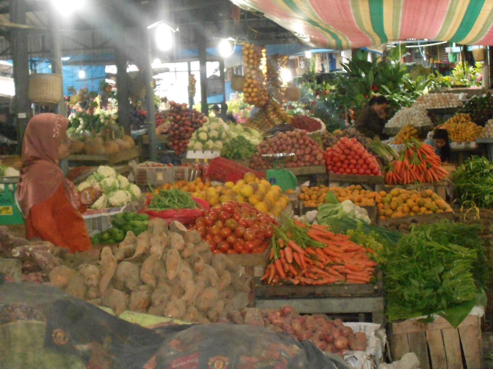 Mercando de Berastagi, Sumatra