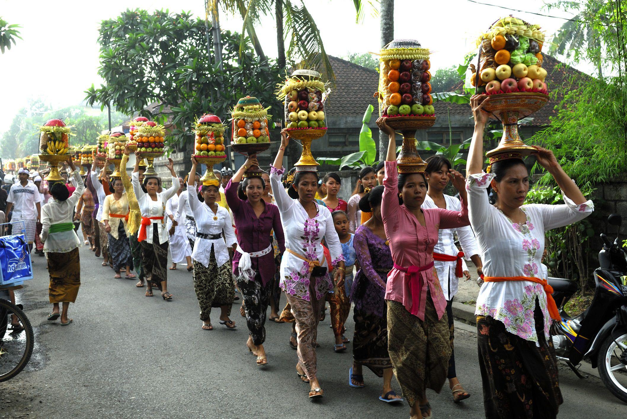 Festival de Galungan, Bali, Indonesia