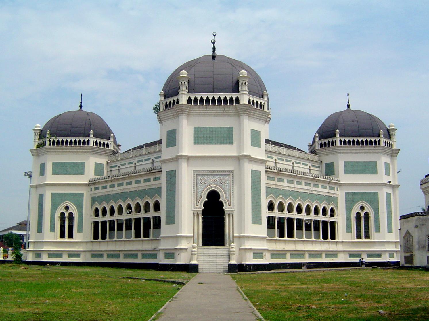 Mezquita en Medan Mesjid Raya Al Mashun