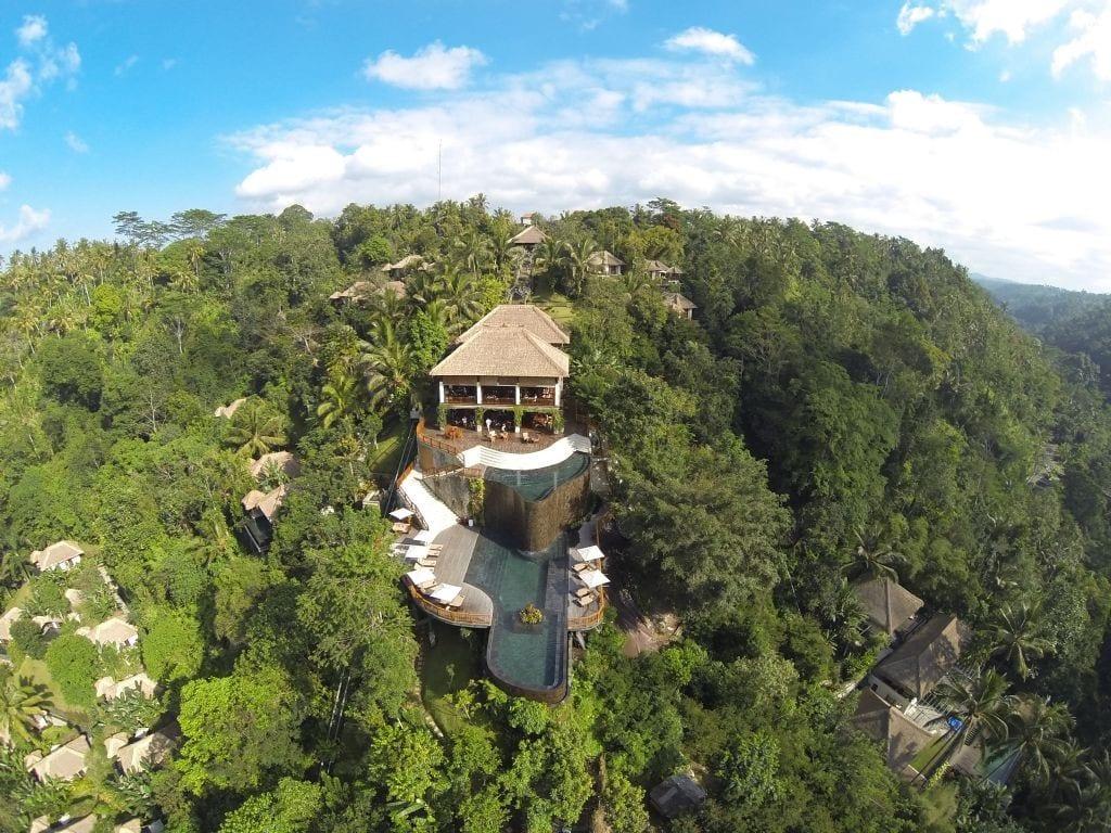 Jardines Colgantes de Bali, Ubud
