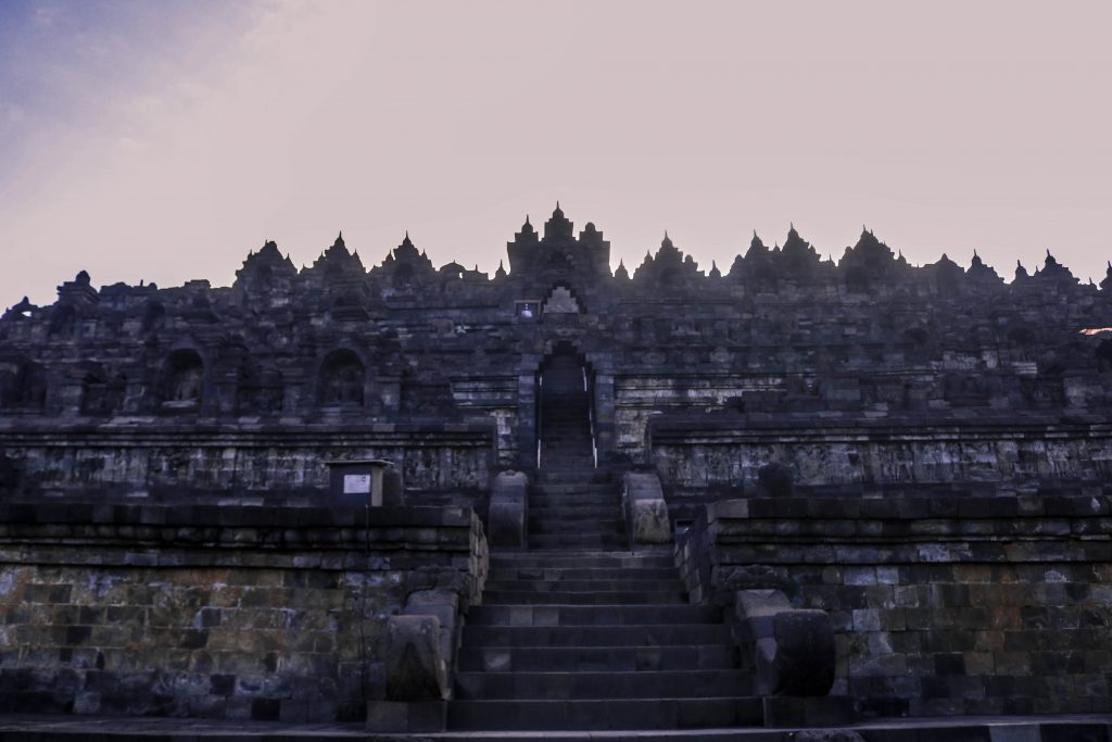 Día de Waisak en Borobudur