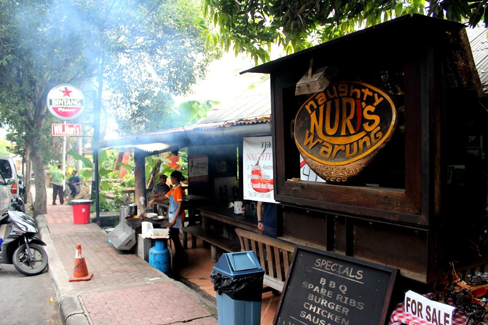 Restaurant Naughty Nuri Warung and Grill, Ubud