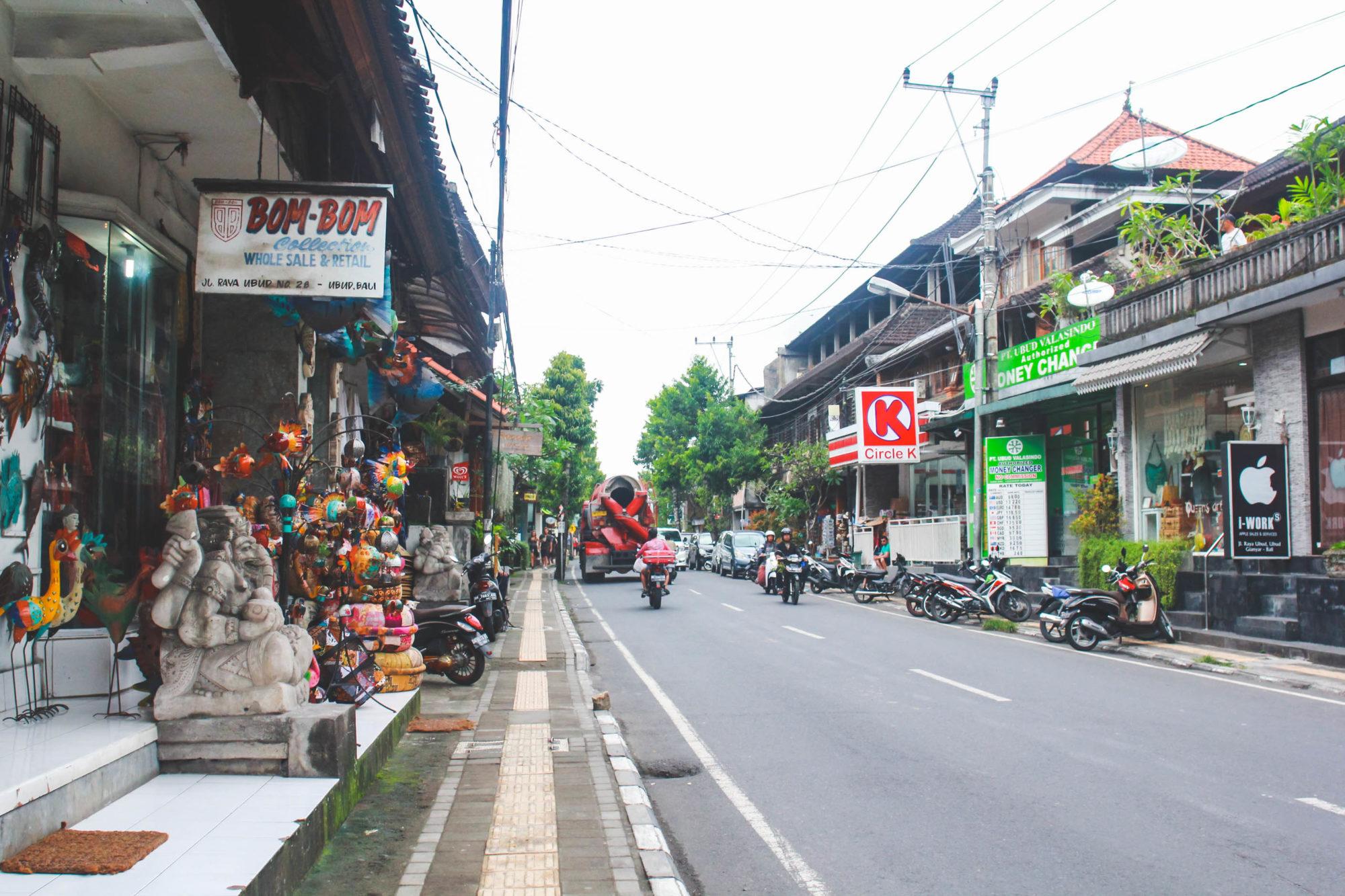 Mercado Jalan Raya Ubud