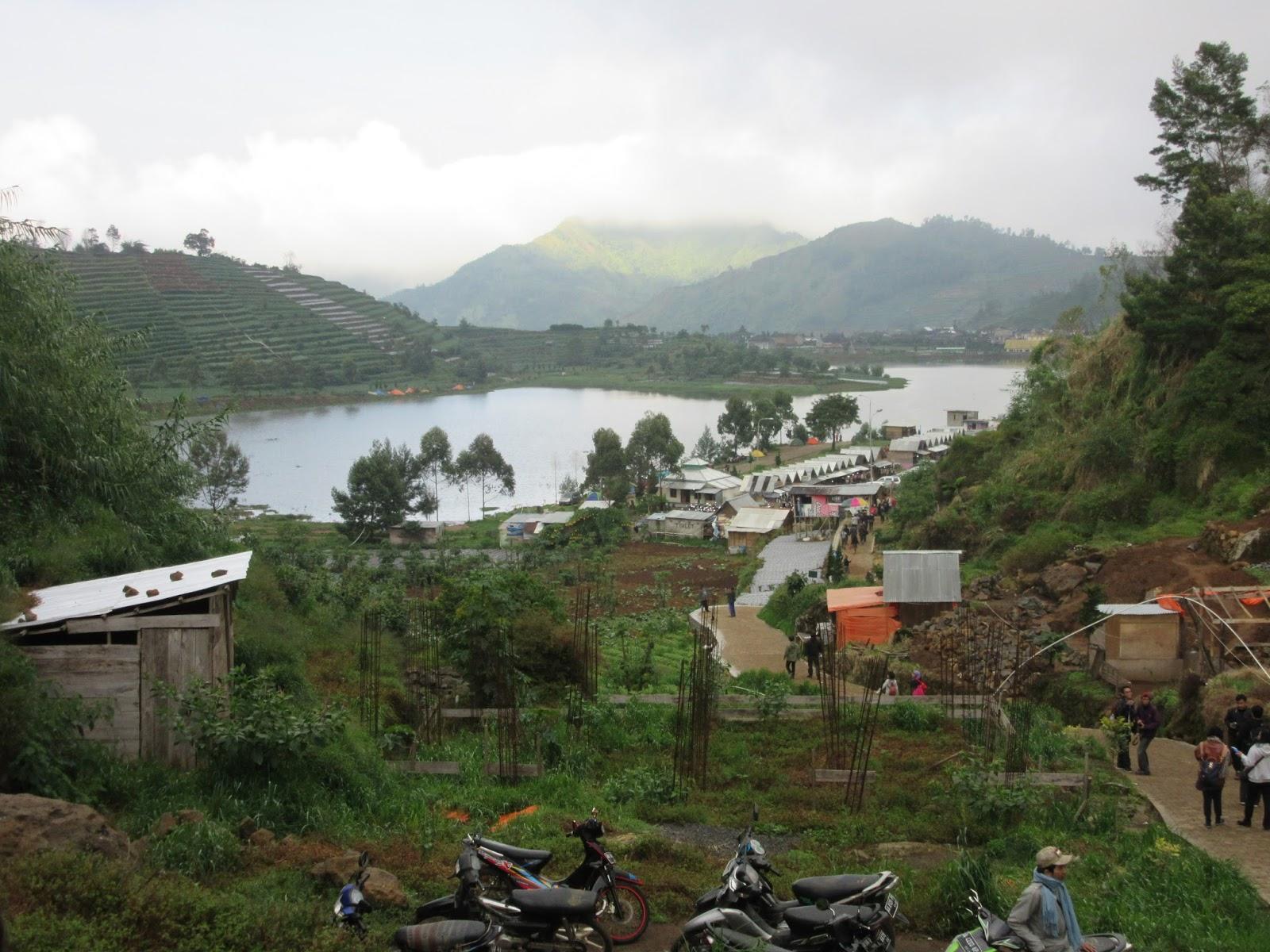 pueblos de las colinas, Dieng Plateau