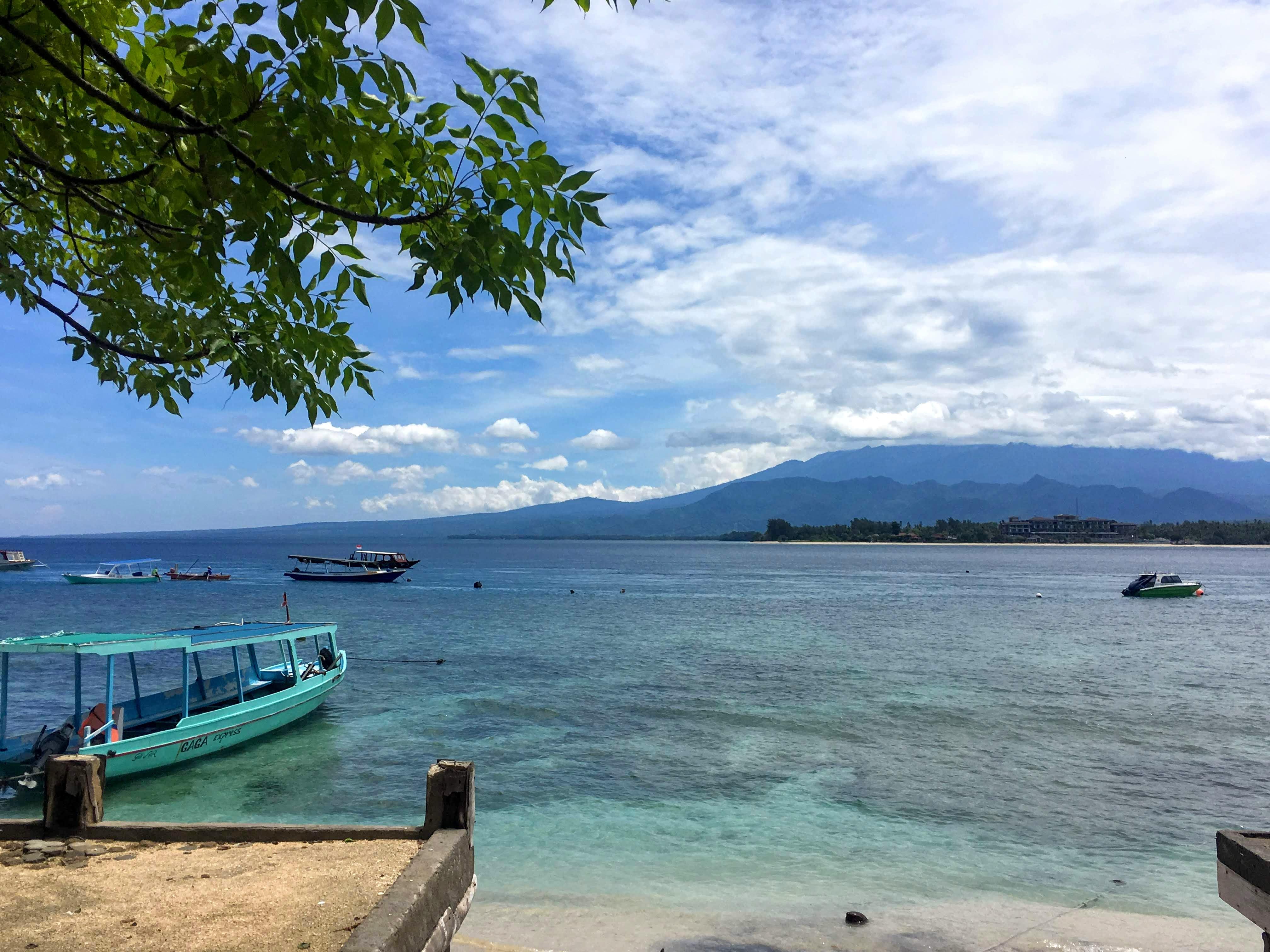 Isla Gili air