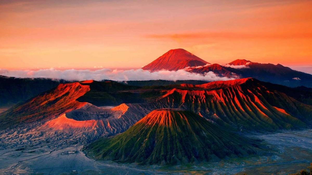 Guía para el senderismo en el Monte Bromo, Java Oriental