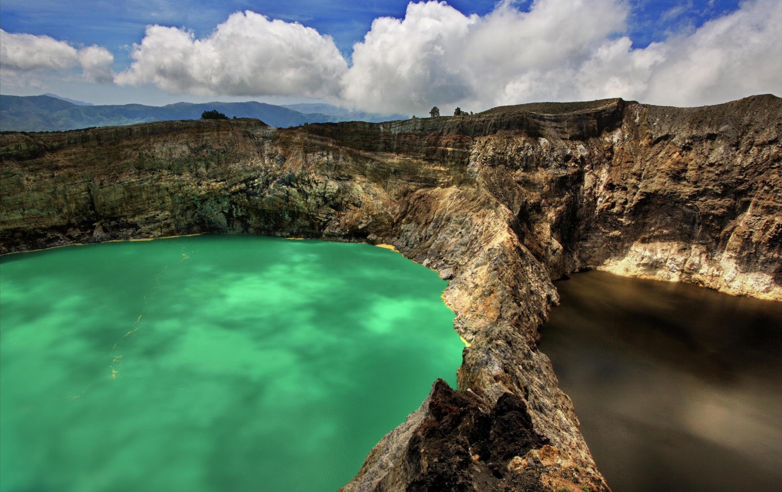 Montaña del Volcan , Nusa Tenggara