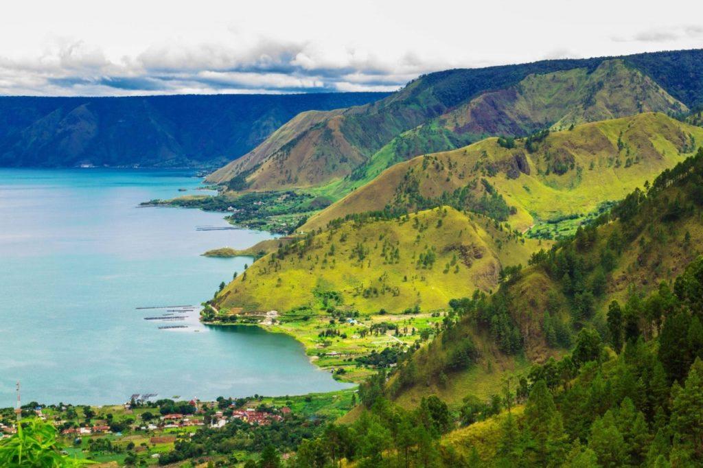 Imagen del Lago Toba