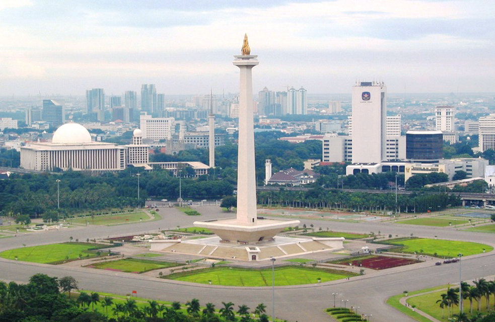 Monumento Nacional Monas indonesia