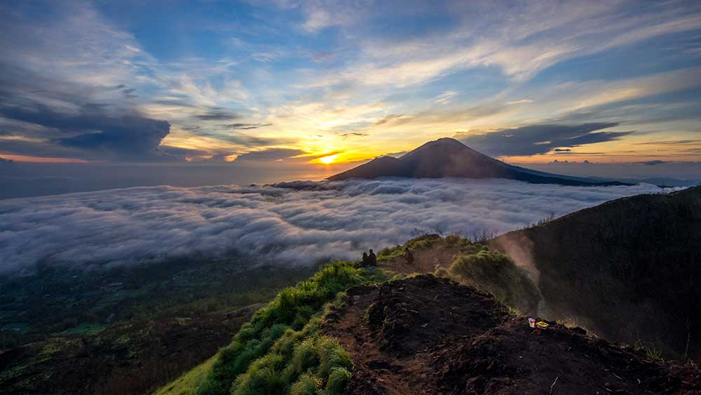 Caminata al volcán Batur, Bali