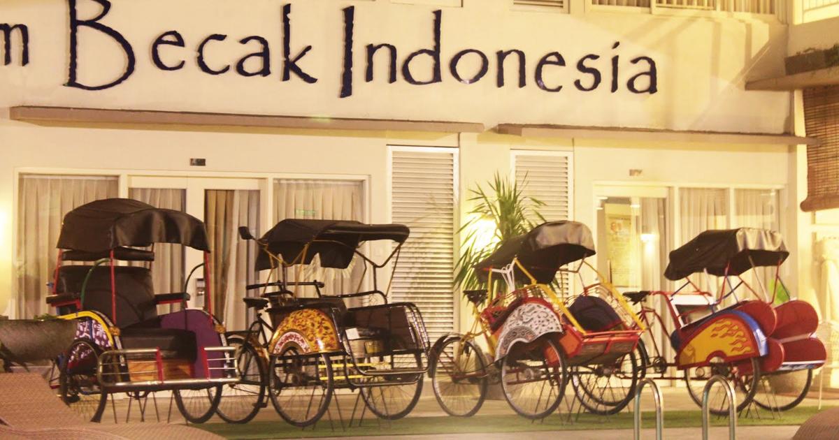Imagen de Los Becak, Indonesia