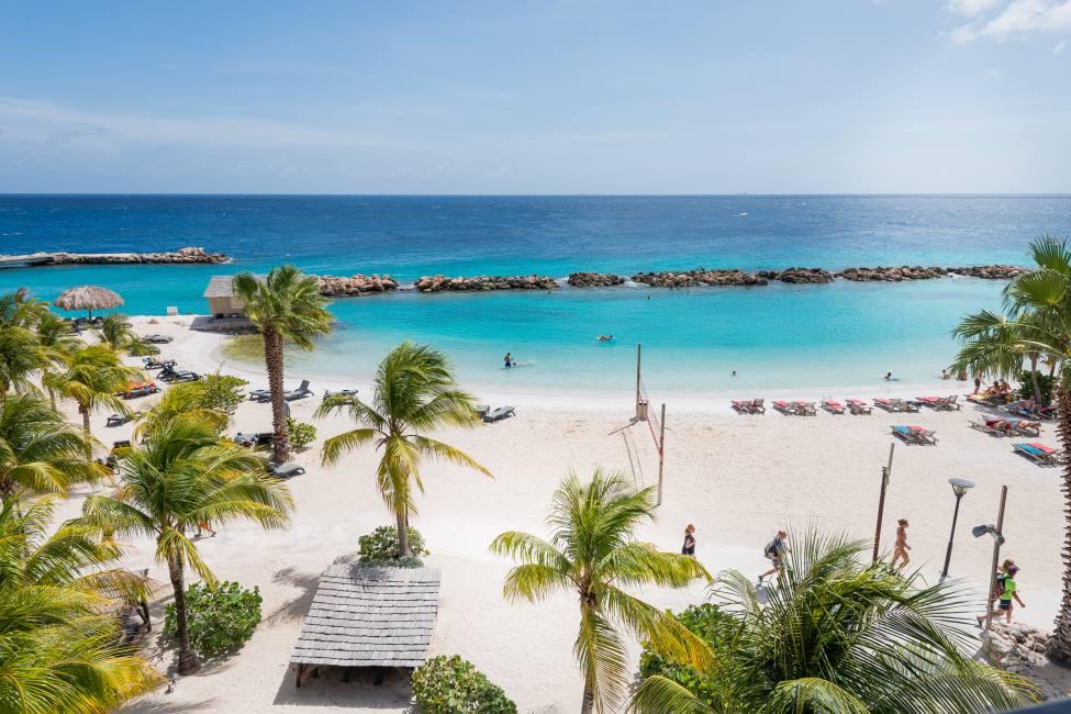 playa privada del resort