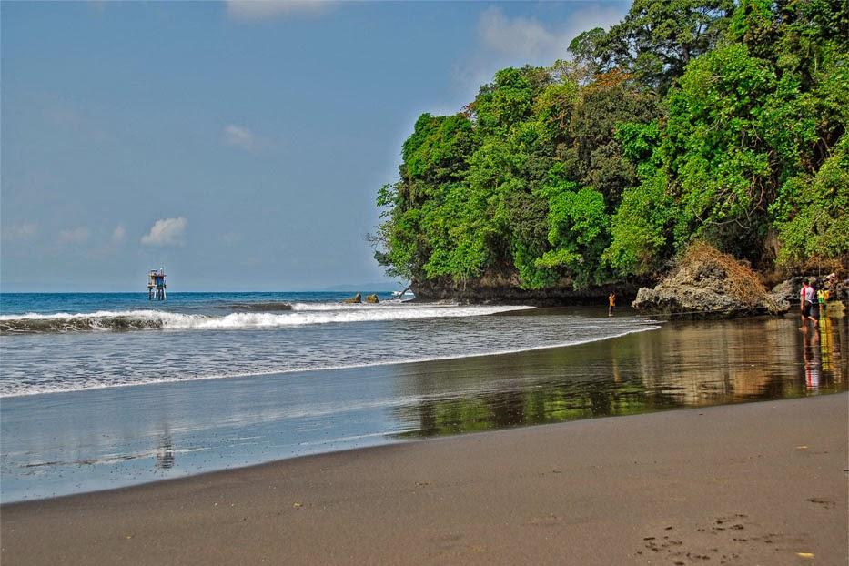 Playa Batu Karas, Java Occidental