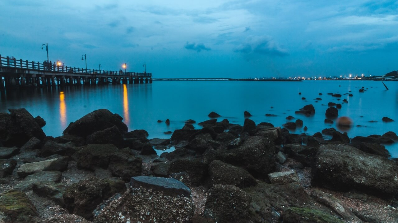 Playa Ancol en Yakarta