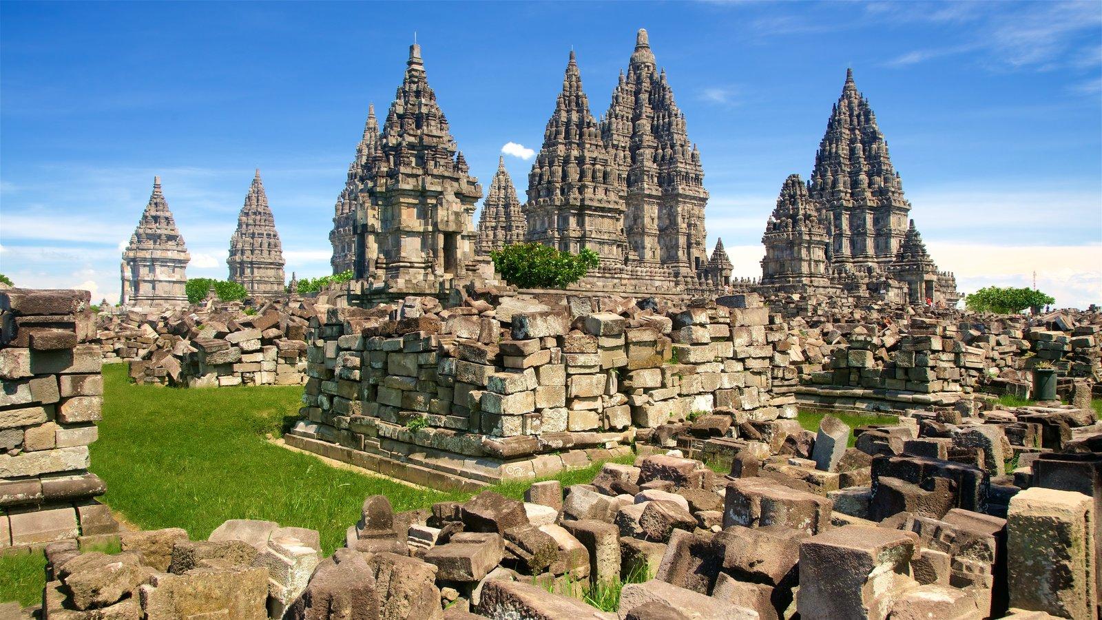 Compuestos del Templo de Prambanan, Yogyakarta