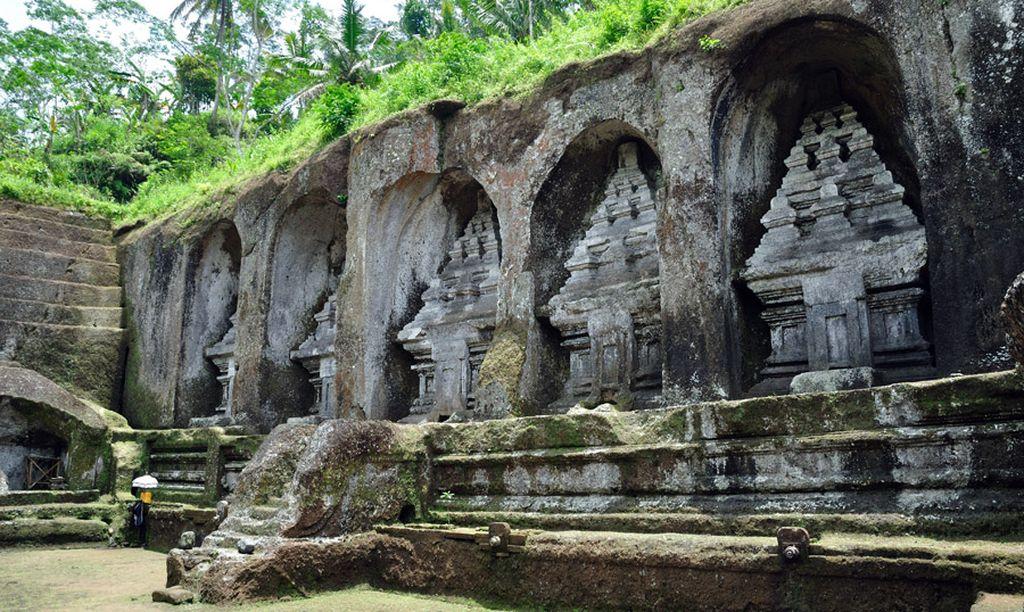 Imagen del Templo de Pura Gunung Kawi