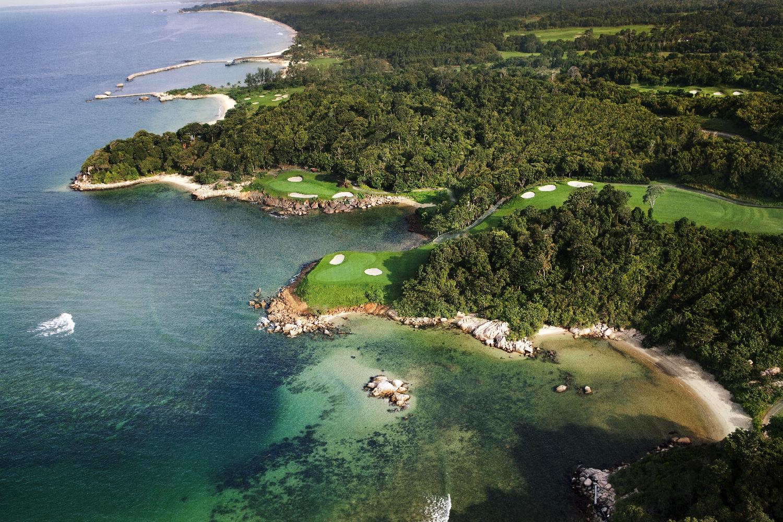 Golf en la isla de Bintan, Indonesia