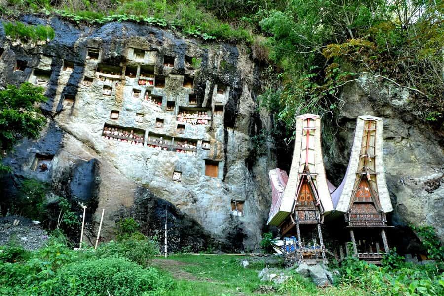 Pueblo en Tana Toraja