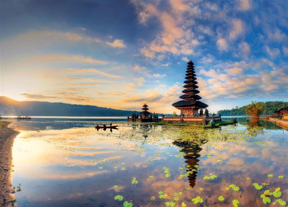 Imagen del Lago Bratan, Bali