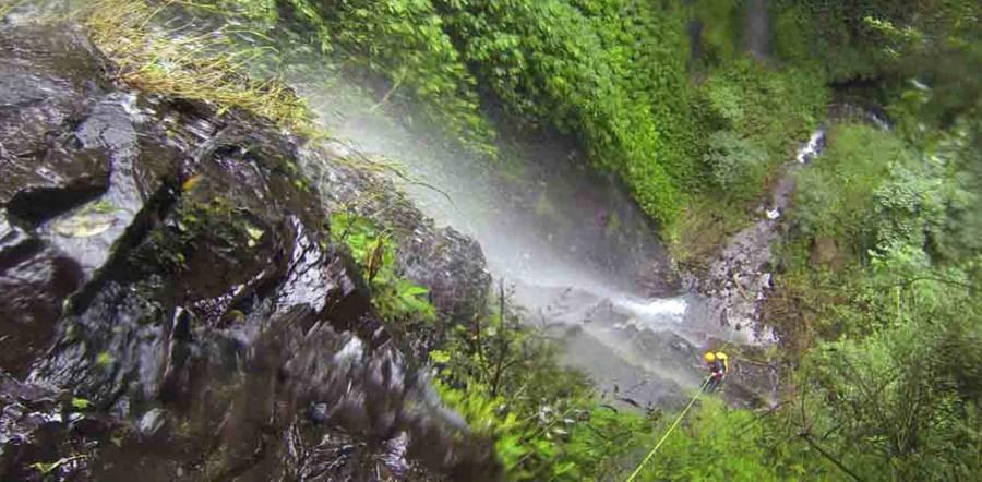 Canyoning en Bali, Indonesia