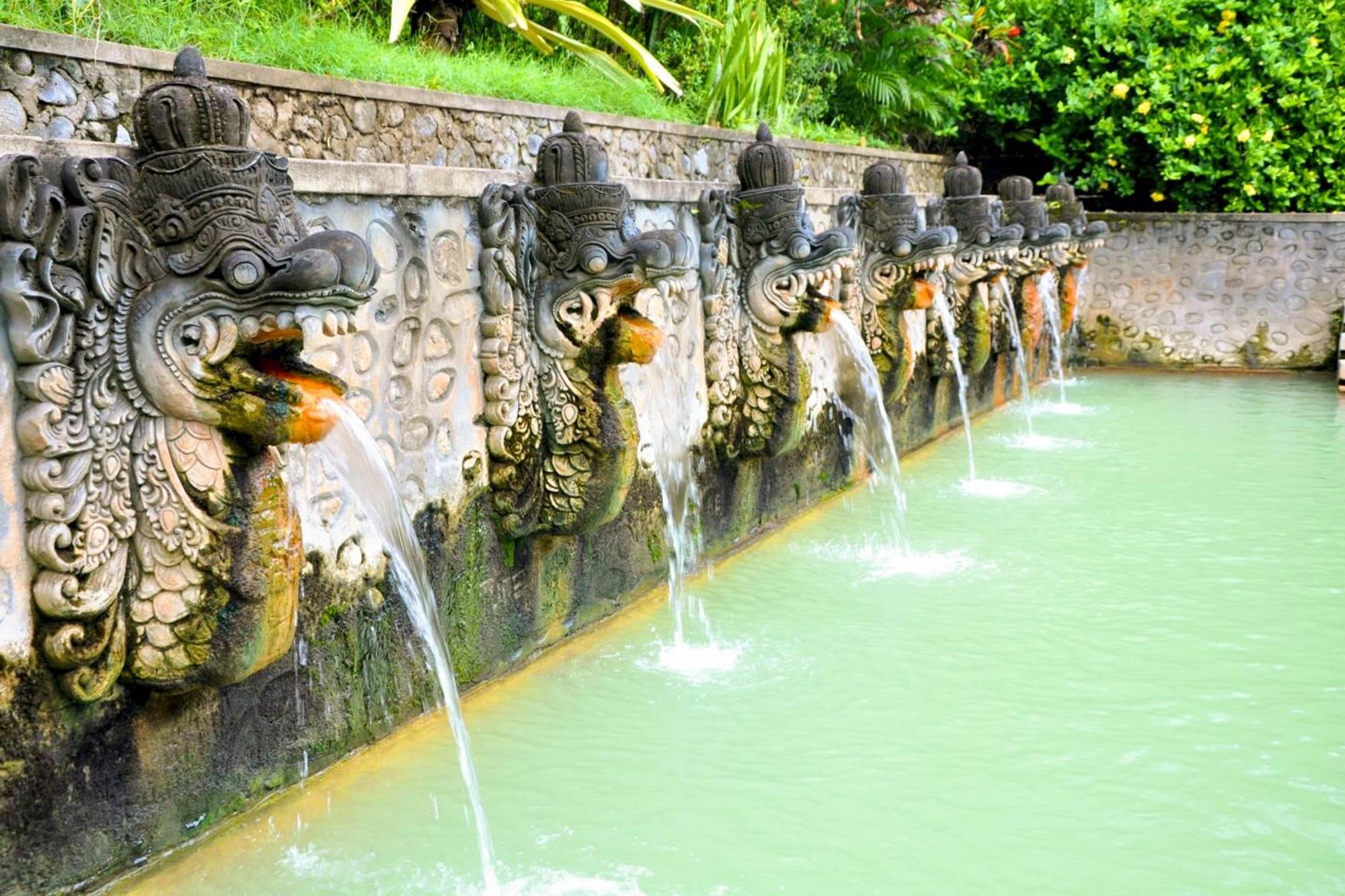 aguas termales en Bali