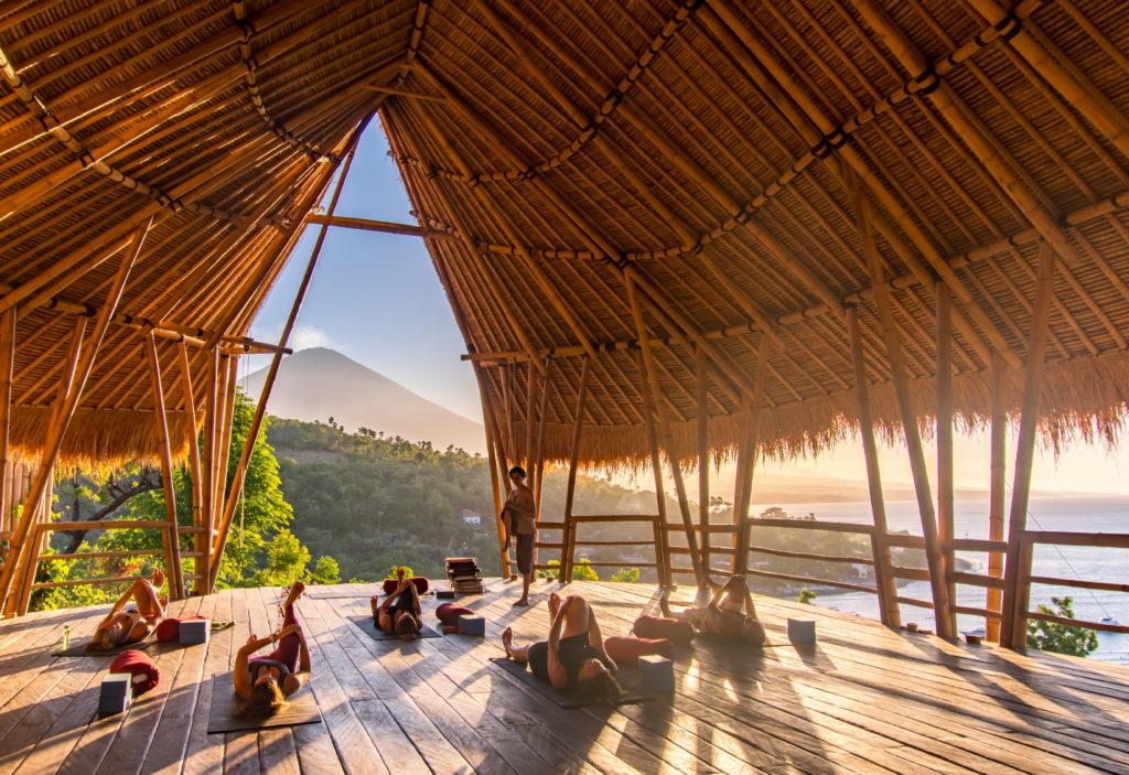 Relajante Yoga en Bali