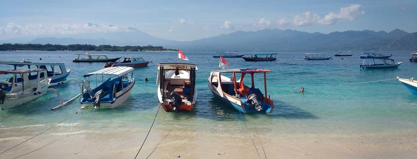 Tour en Barco Por Gili Trawangan
