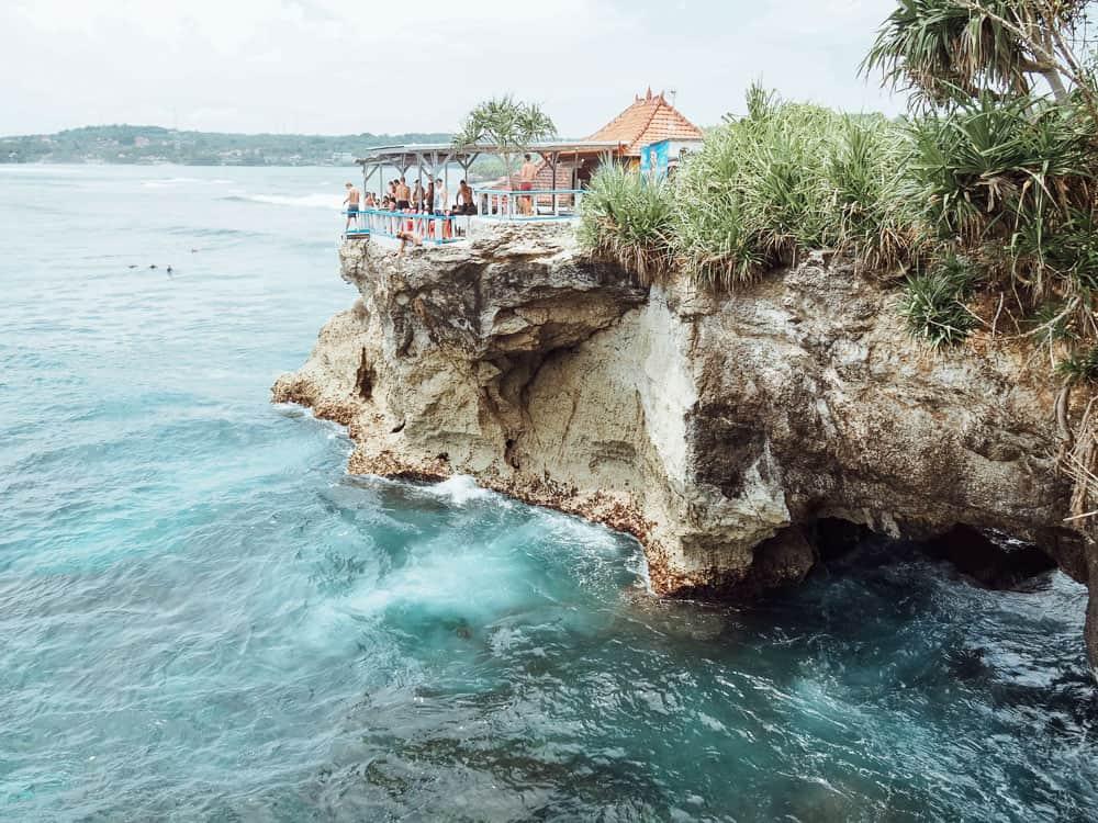 Cliff Jump en Nusa Lembongan