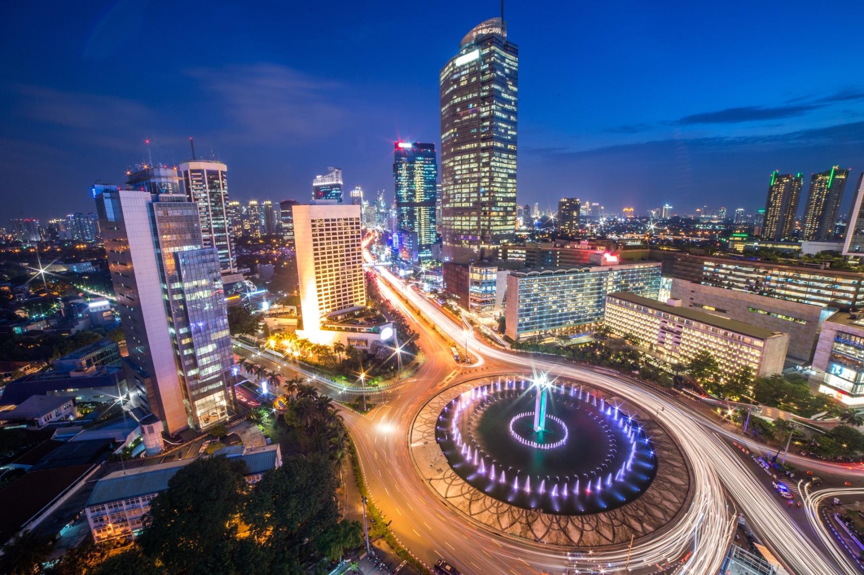 Ciudad de Yakarta indonesia