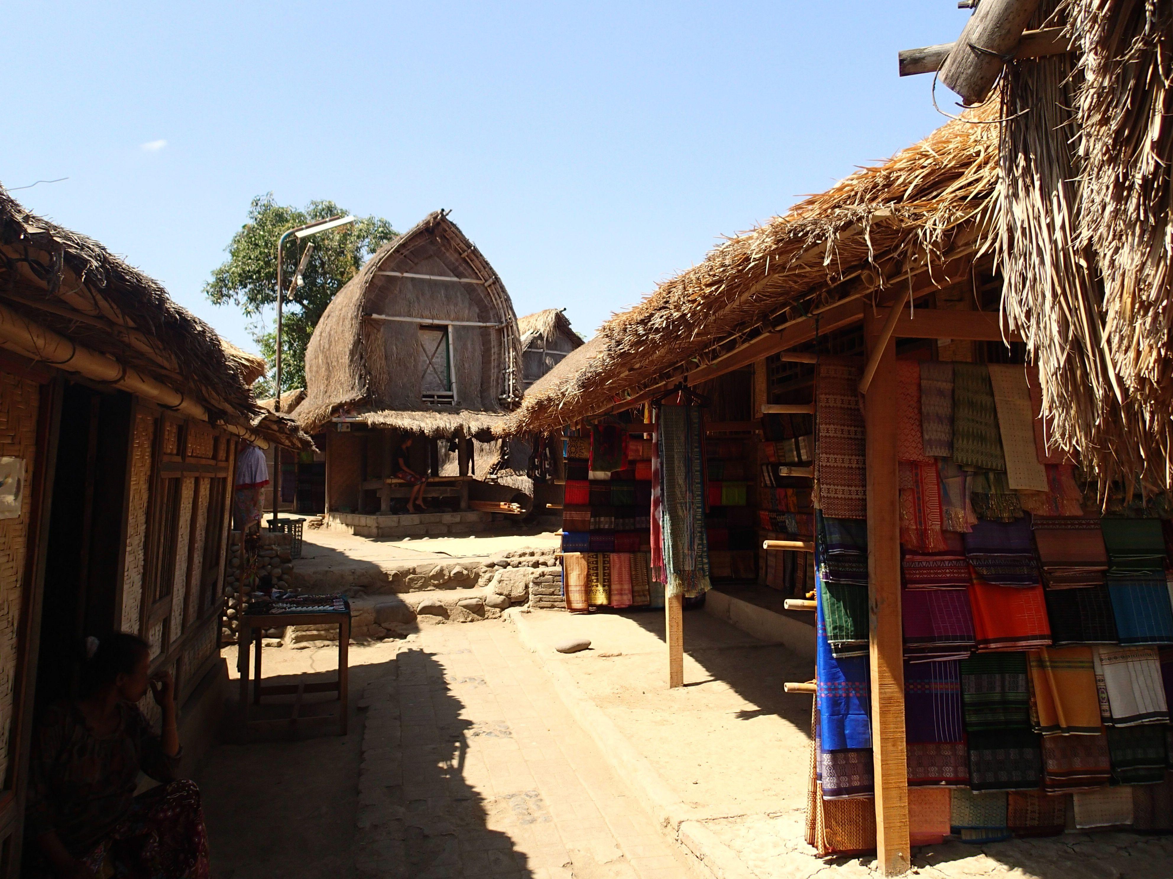 Pueblo de los indígenas Sasak Lombok