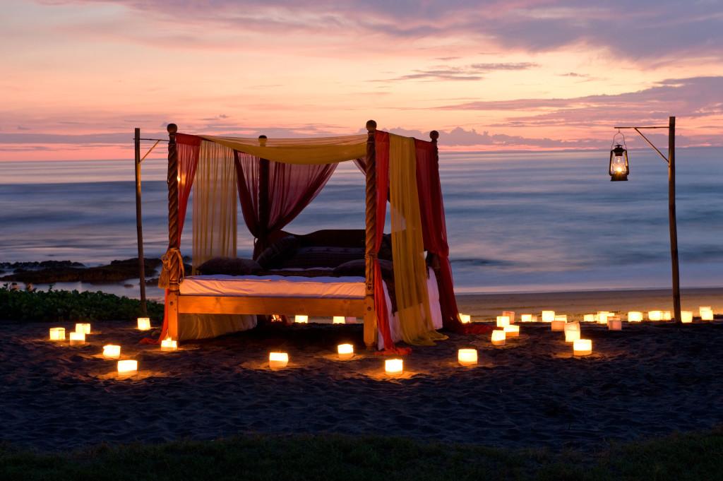Cena Romántica en Bali