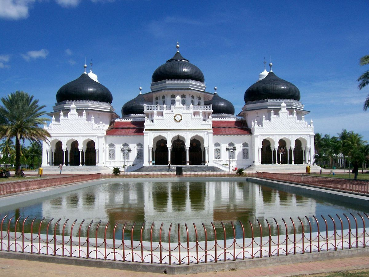 mezquita de Baiturrahman