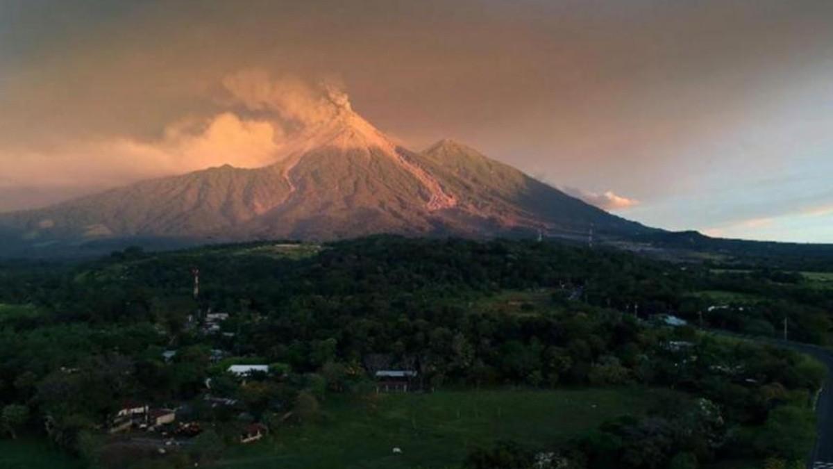 Imagen del Monte Kerinci