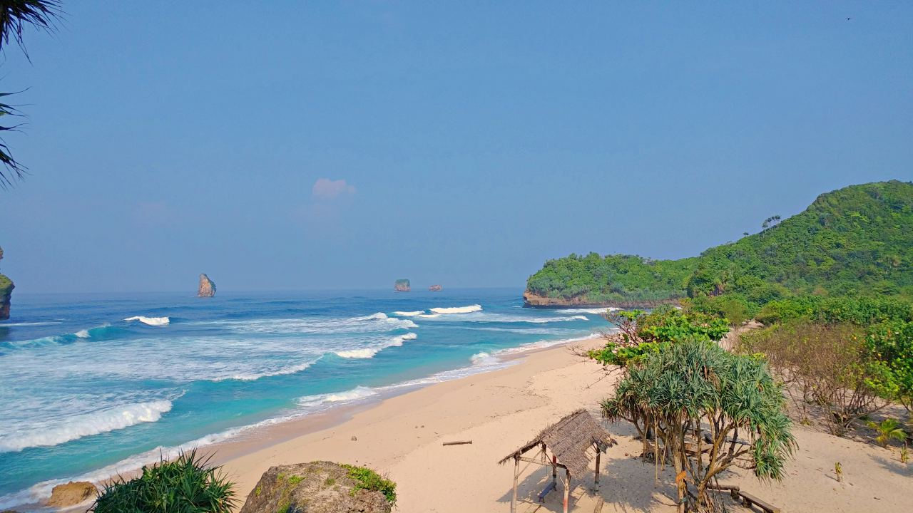 PlayaTambakrejo Beach, East Java