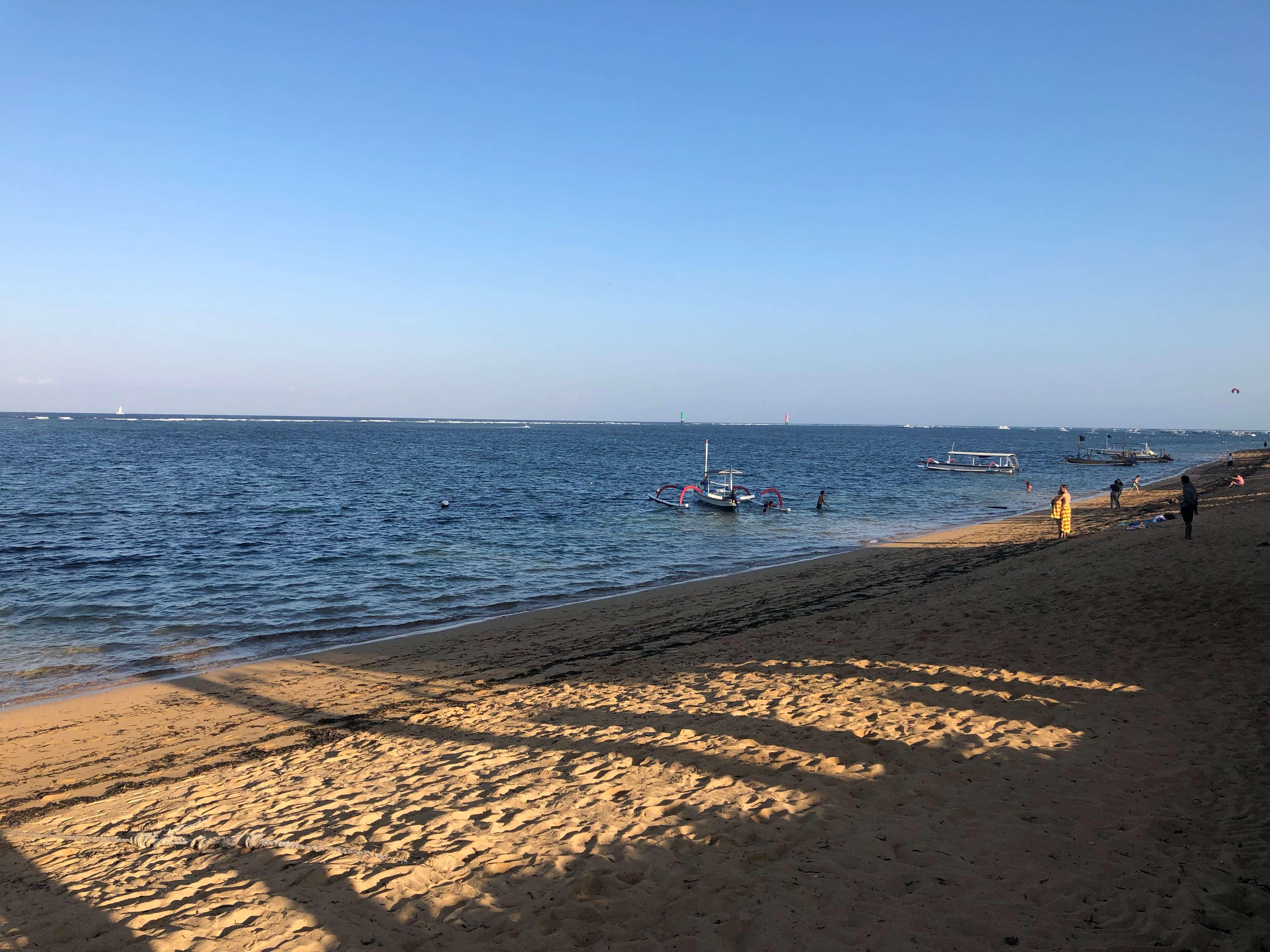 paseo marítimo Sanur