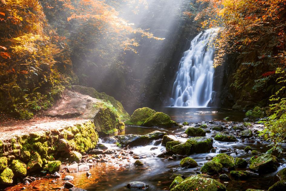cascadas de Gitgit