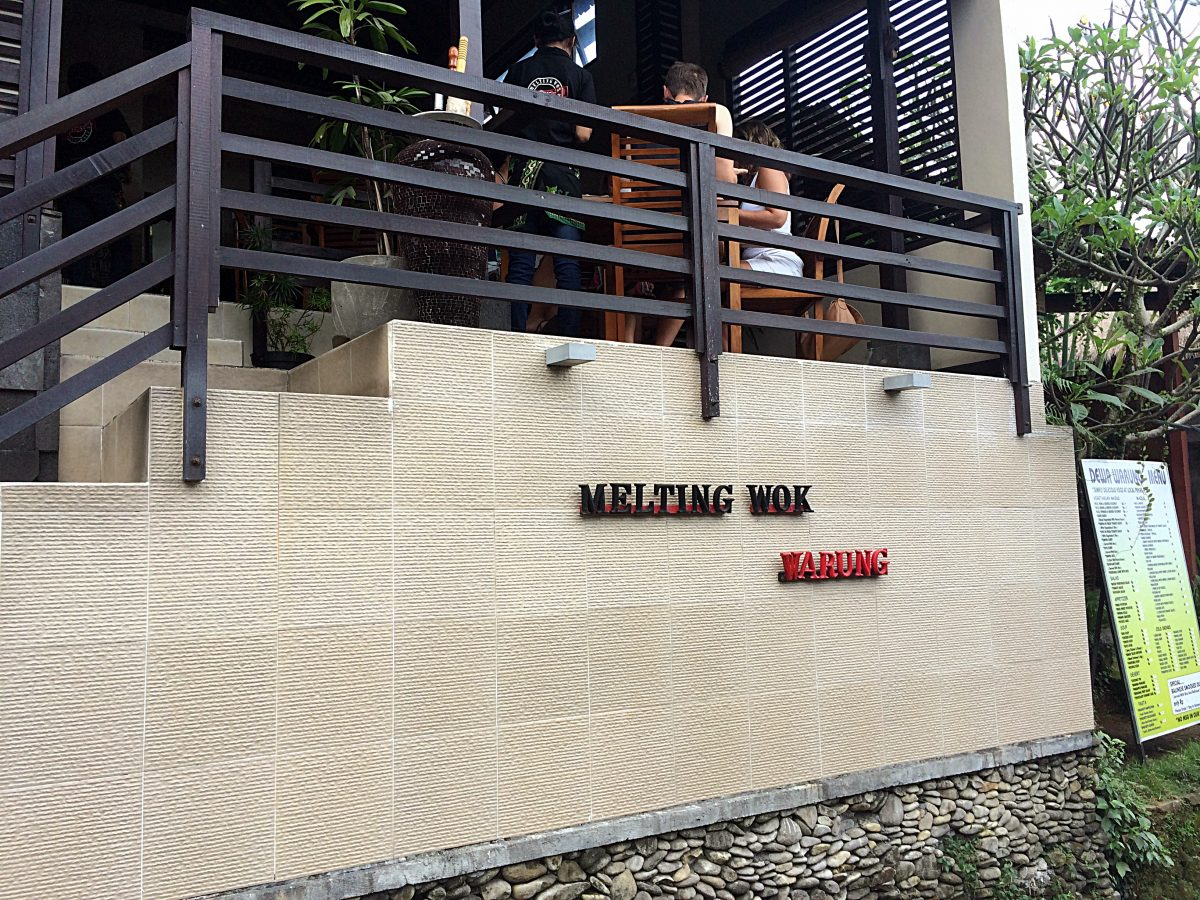 Restaurant Melting Wok Warung, Ubud