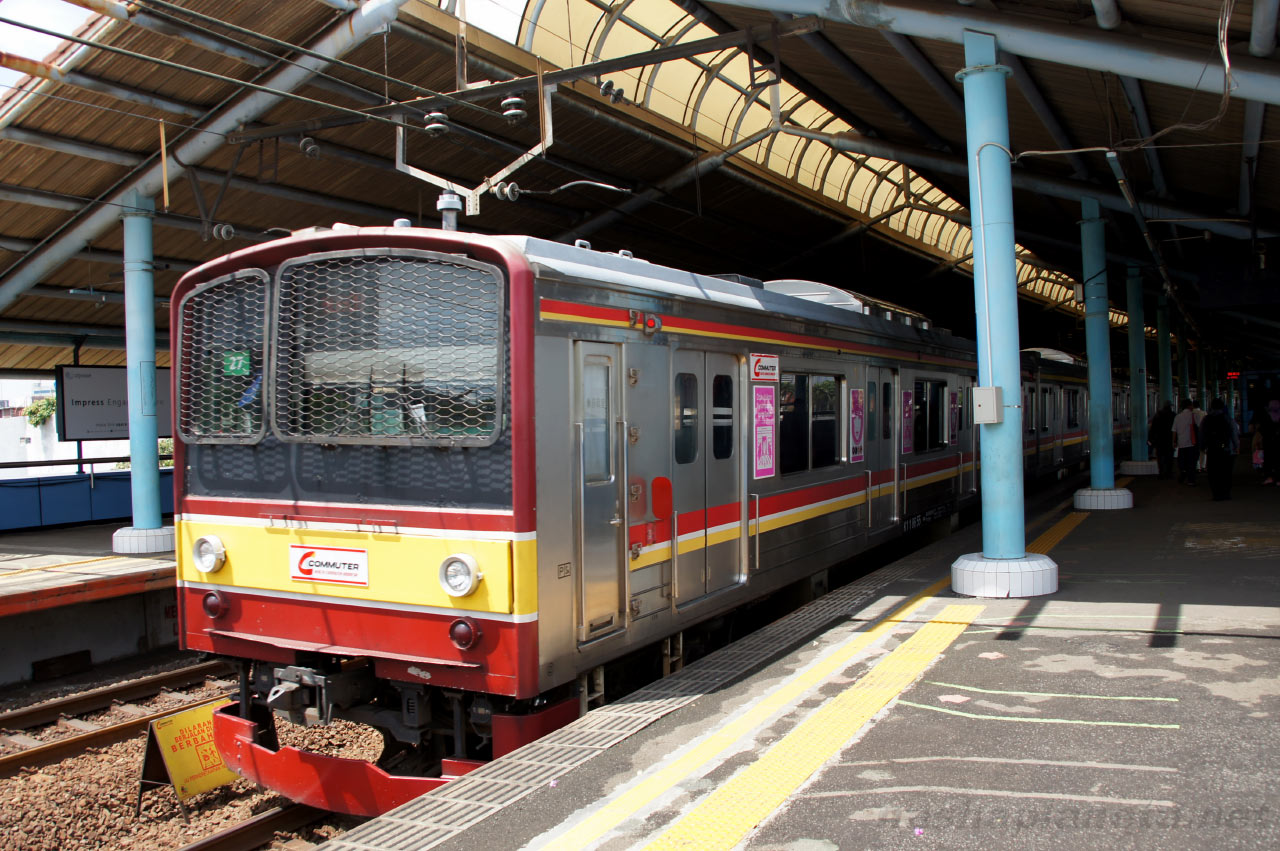 Trenes en Java, indonesia