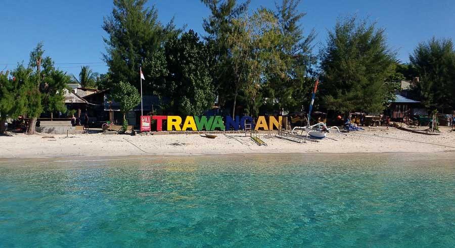 Actividades en Trawangan