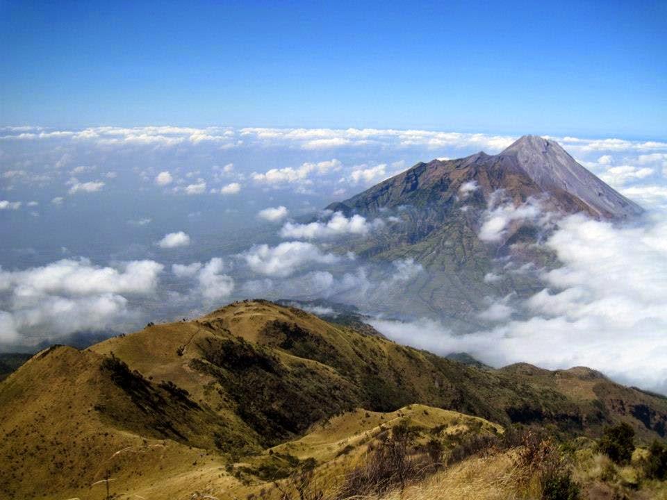 Imagen del Monte Merbabu